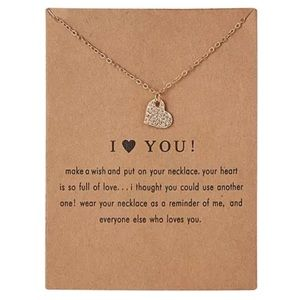 Jewelry - NEW!! 💖 I love you Necklace